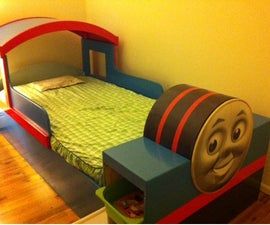 Thomas Train Bed