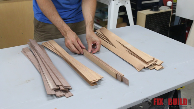 Picture of Mill the Strips for Lamination