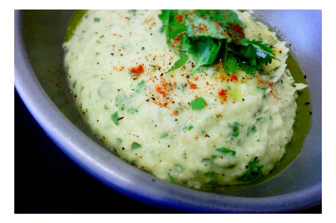 Picture of Spicy Cilantro White Bean Hummus