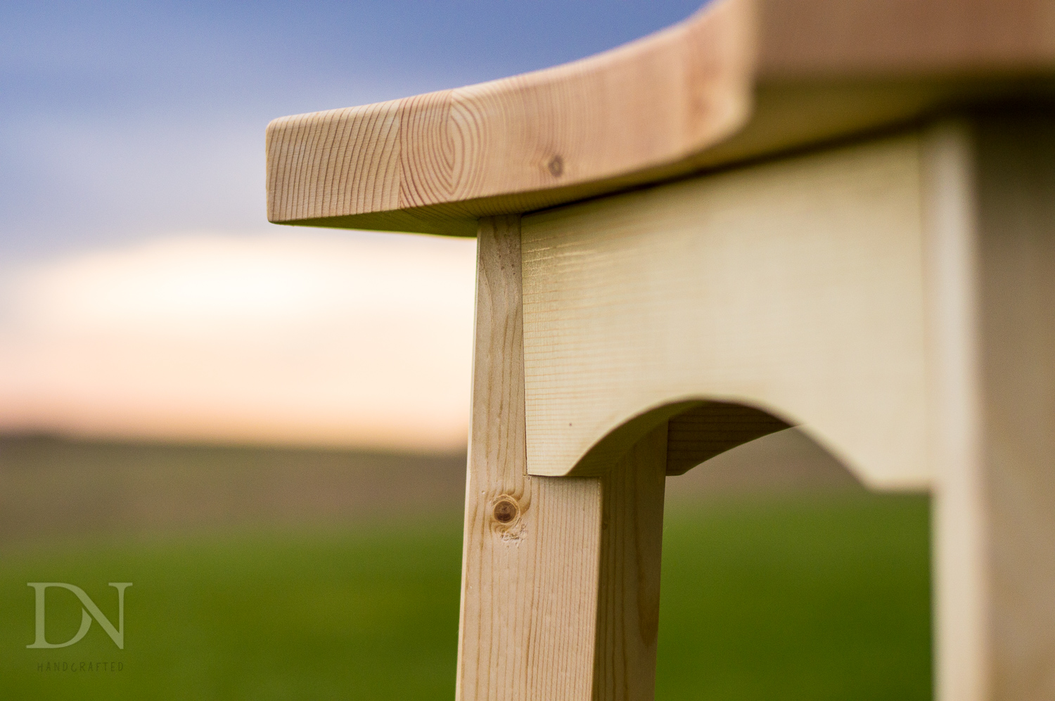 Picture of Modern Shop Stool From Two 2×4s