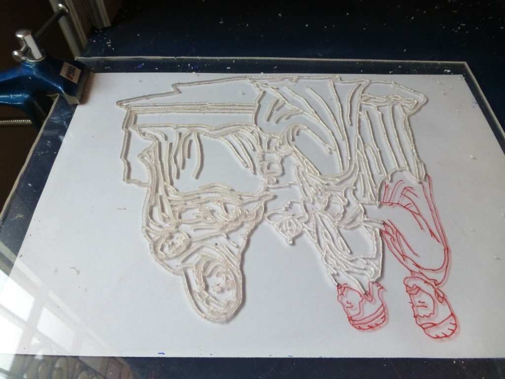 Picture of Routing Progress