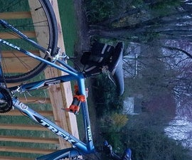 DIY $35 Bike Repair Stand
