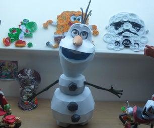 FROZEN Papercraft: Olaf!