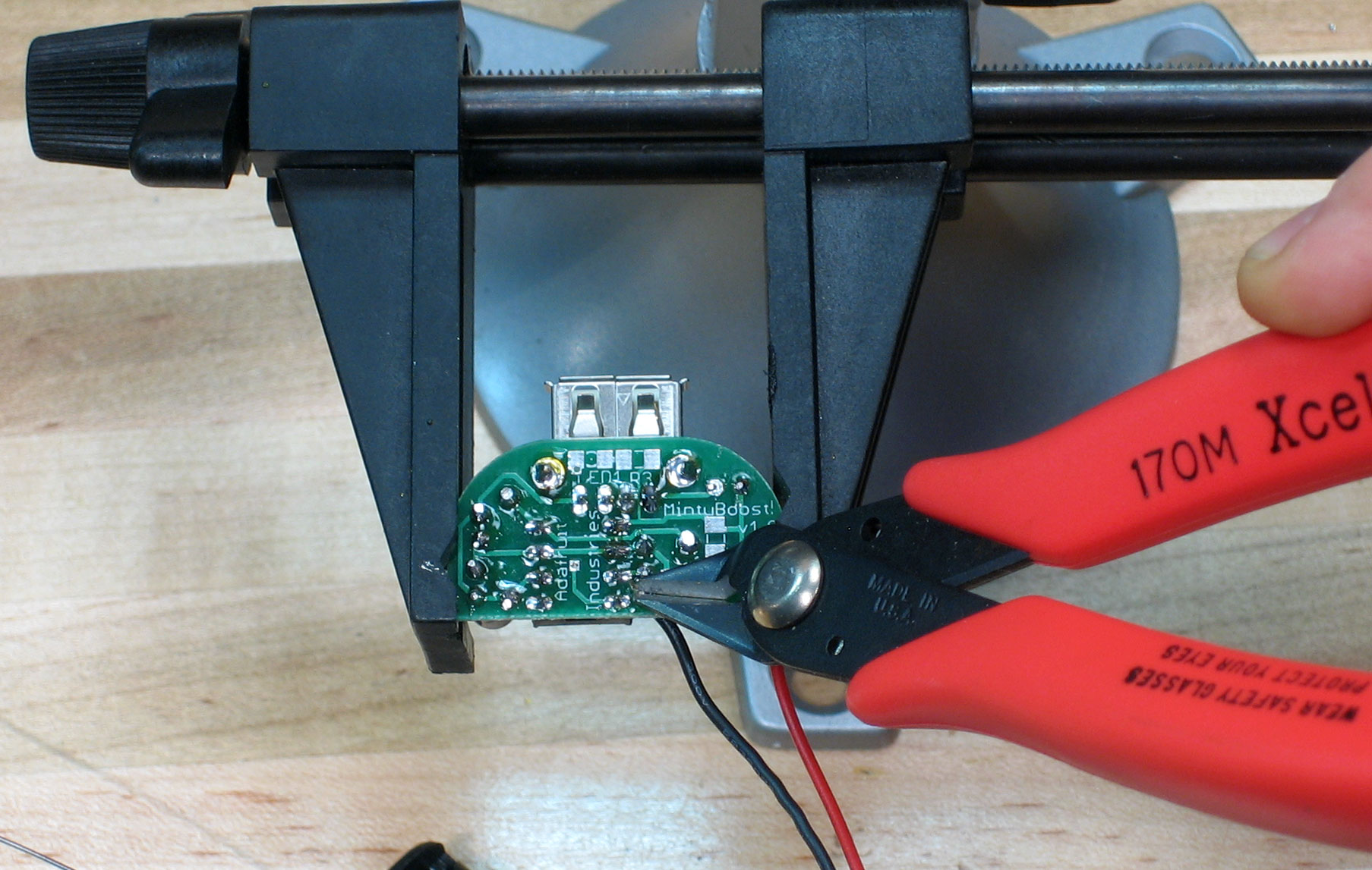 Picture of Make: Final Soldering