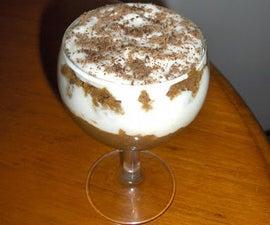 Rum Coffee Cream Dessert (Trifle)