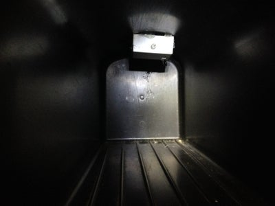 Mount the Light Inside the Mailbox