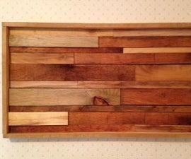 Wood Slat Wall Art