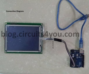 4-Wire Touch Screen Interfacing With Arduino