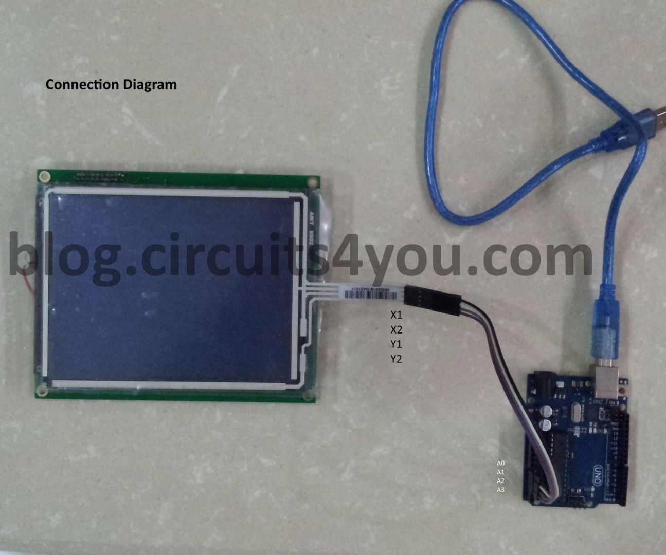 4 Wire Touch Screen Interfacing With Arduino 3 Steps 74hc4051 Multiplexing And Voltage Divider Electrical