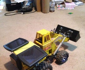 Tonka Front Loader Conversion With Solar Upgrade
