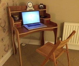 Plywood Laptop Table