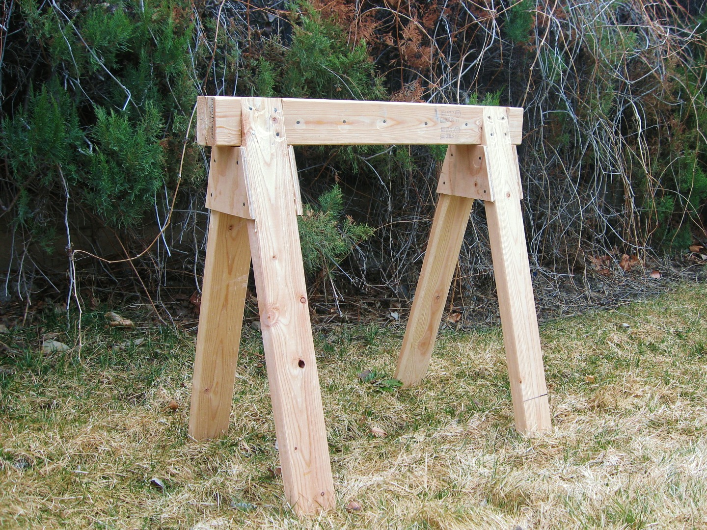 Picture of The Best Sawhorse - Strong, Cheap & Easy!