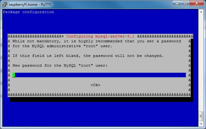 Picture of Install MySQL