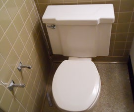 Removing a Toilet; Home Improvment