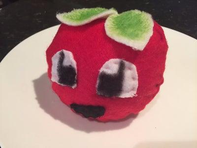 Hand-sewn Tomato