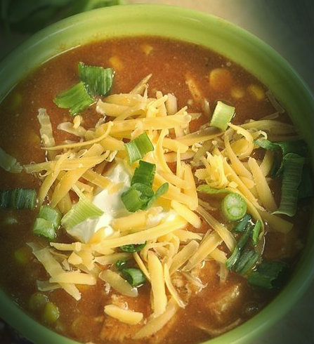 Picture of Simple Chicken Enchilada Soup