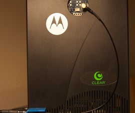 Adding an External Antenna to a Clear Motorola CPEi25150