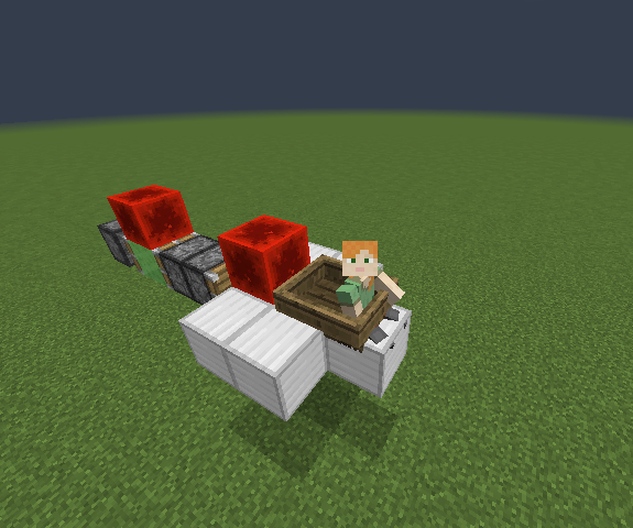 Minecraft Slime Rocket Ship!: 5 Steps