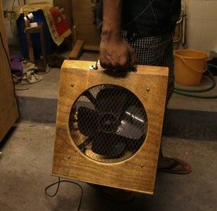 Personal Fan Using Old Exhaust Fan