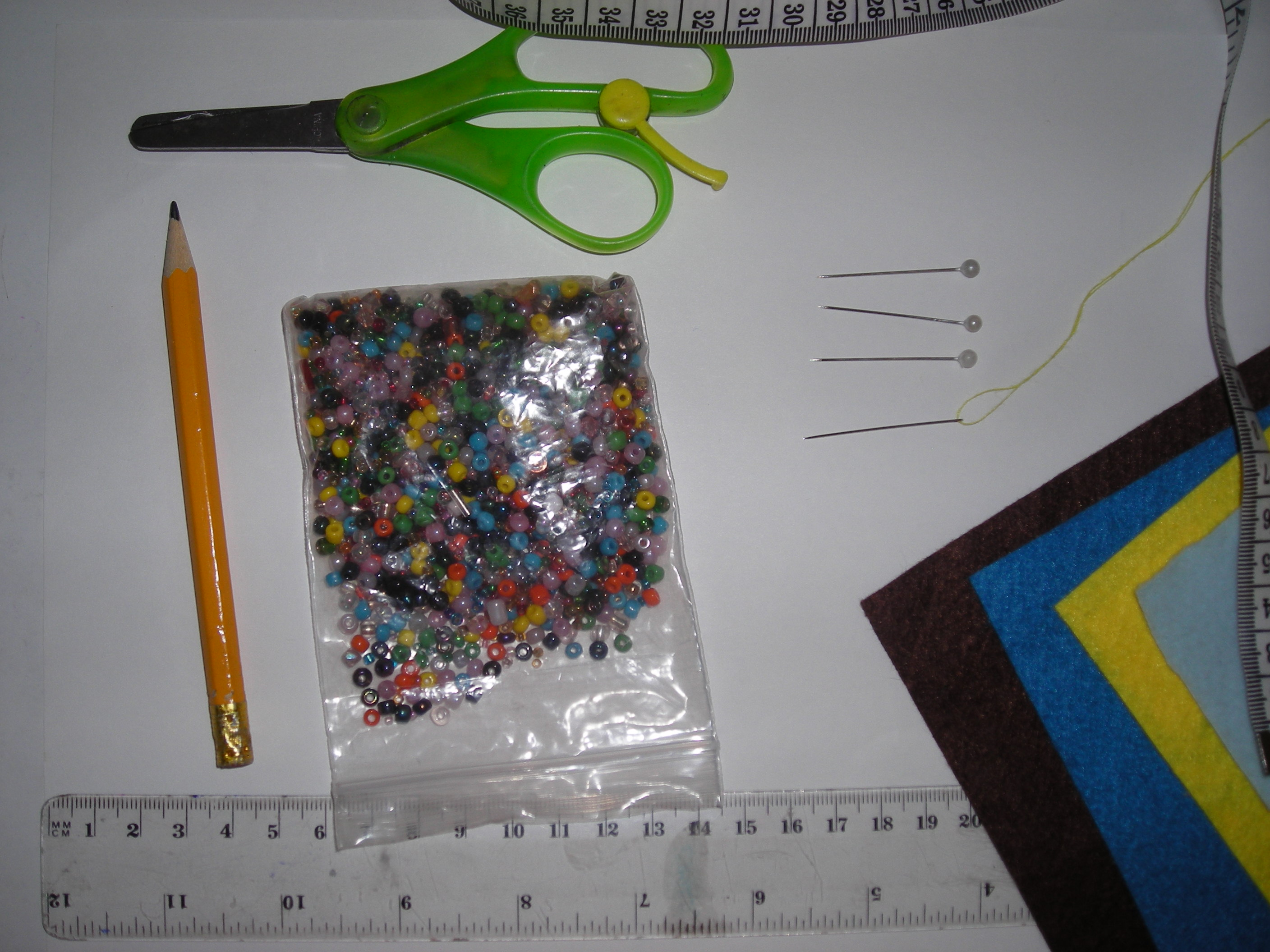 Picture of Ideas and Gathering Materials
