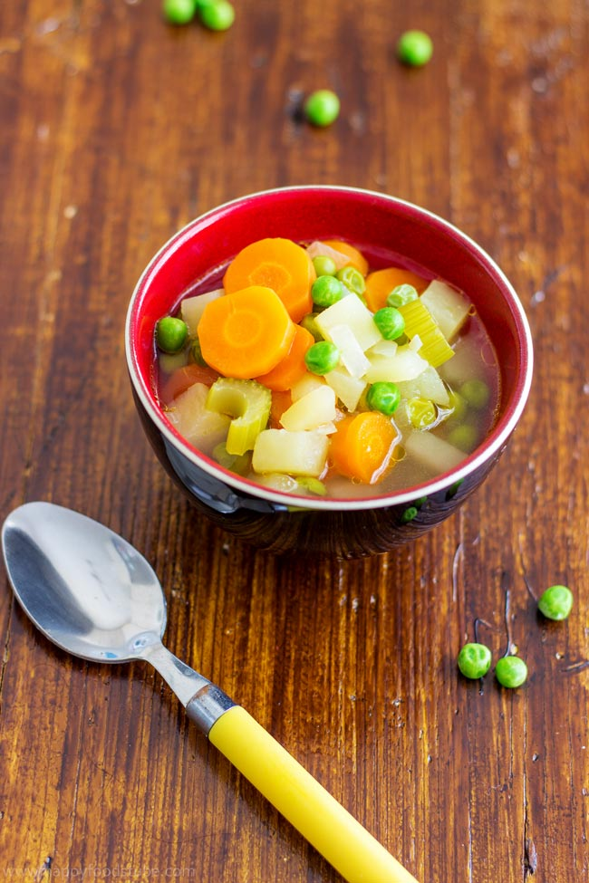 Picture of Spring Vegetables Soup