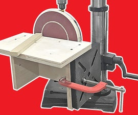Drill Press Disc Sander