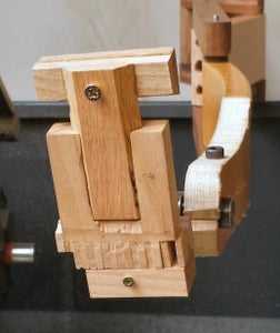 Making the Camera Phone Mount 3 - the Top Clamp