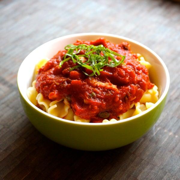 Olive and Caper Tomato Sauce