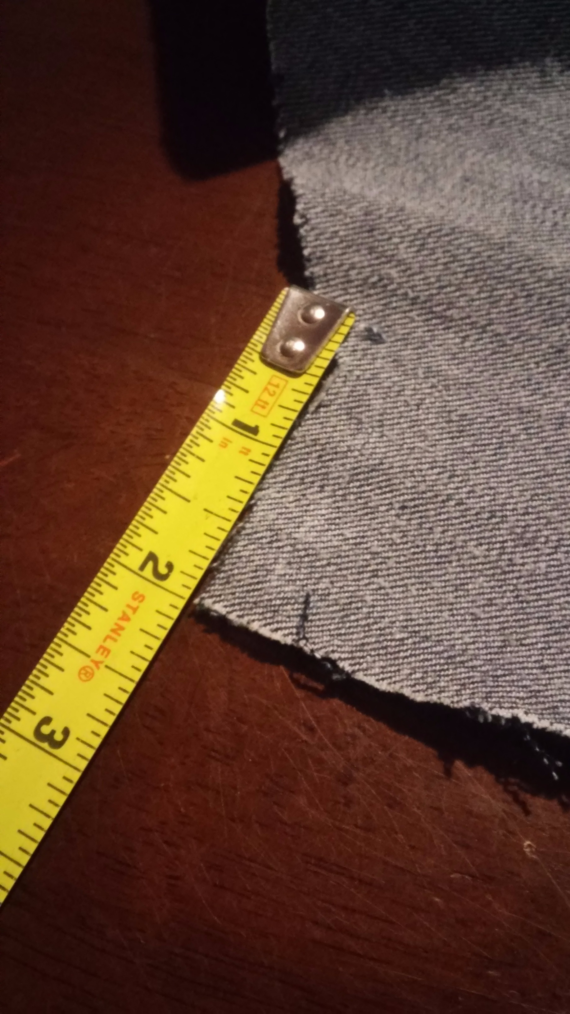 Picture of Sewing the Front of the Vest
