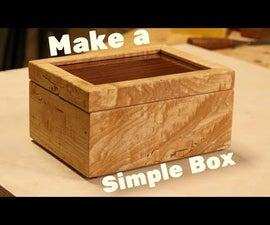 How to Make a Simple Wooden Box With Mortised Hinges
