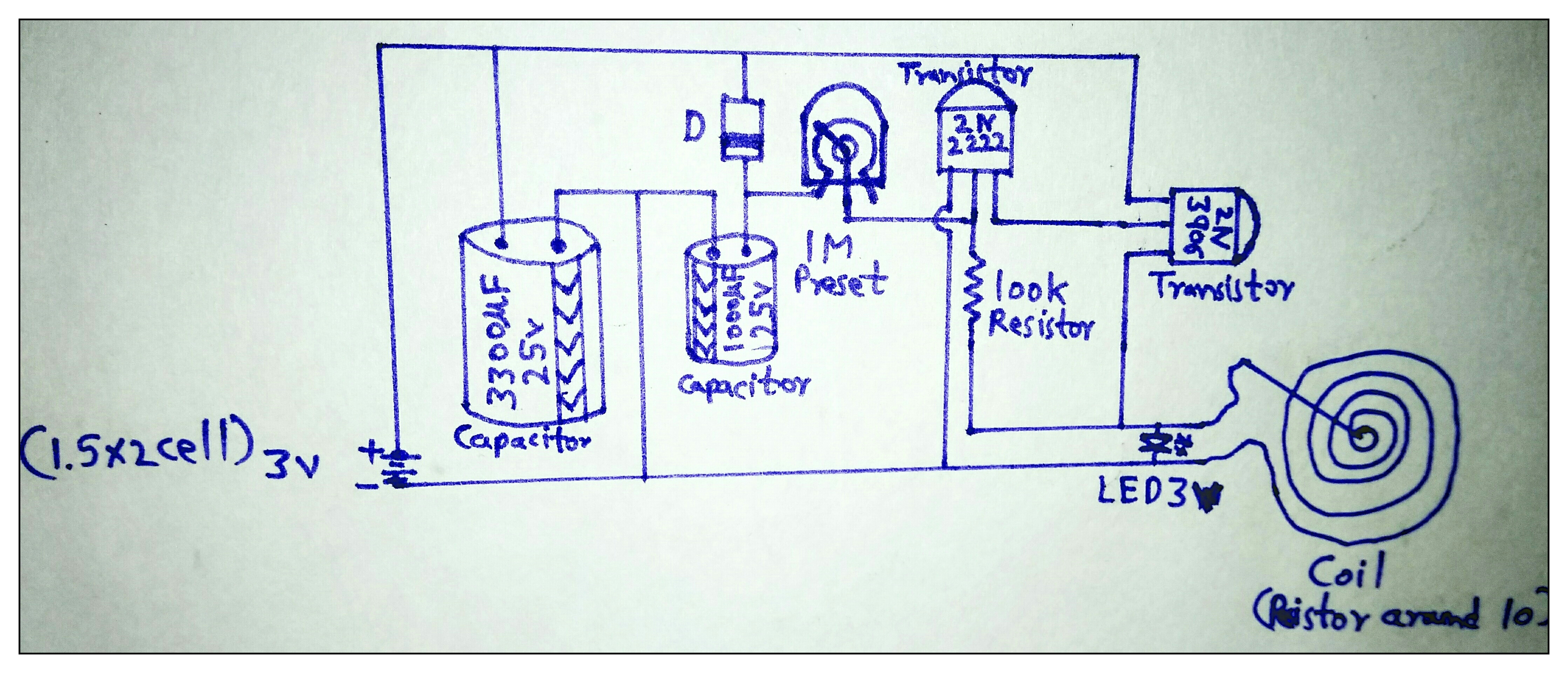 Picture of Electronic Circuit Creation