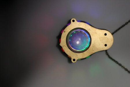 CNC NeoPixel Jewelry