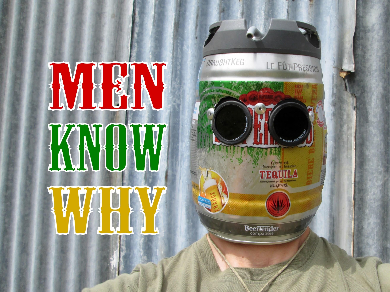 Picture of Very Manly Beer Keg Welding Helmet