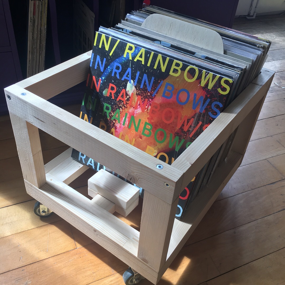 Picture of Awesome Wooden Record Crate
