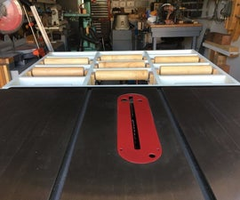 Tablesaw Outfeed Table