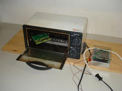 Hack a Toaster Oven for Reflow Soldering