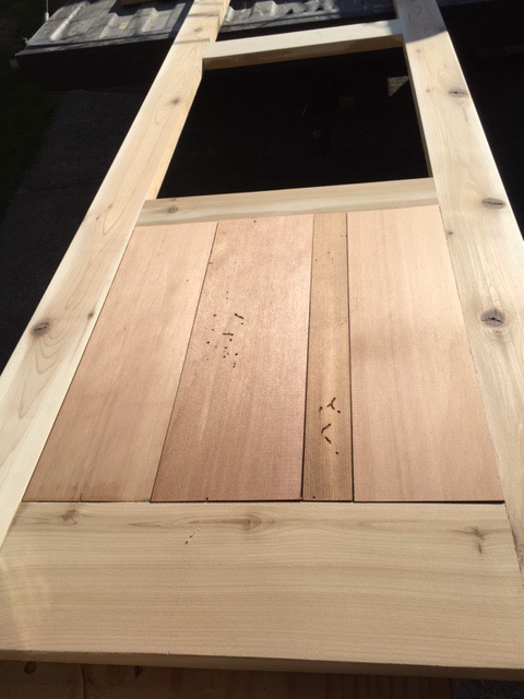 Picture of Building the Door