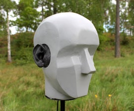 Binaural head for stereo recording