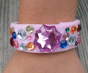 Cardboard Tube Princess Bracelet