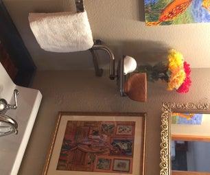 Reclaimed Renovation - DIY Powder Room Update for Under $100
