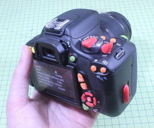 Comfy, Colour-Coded Camera Controls