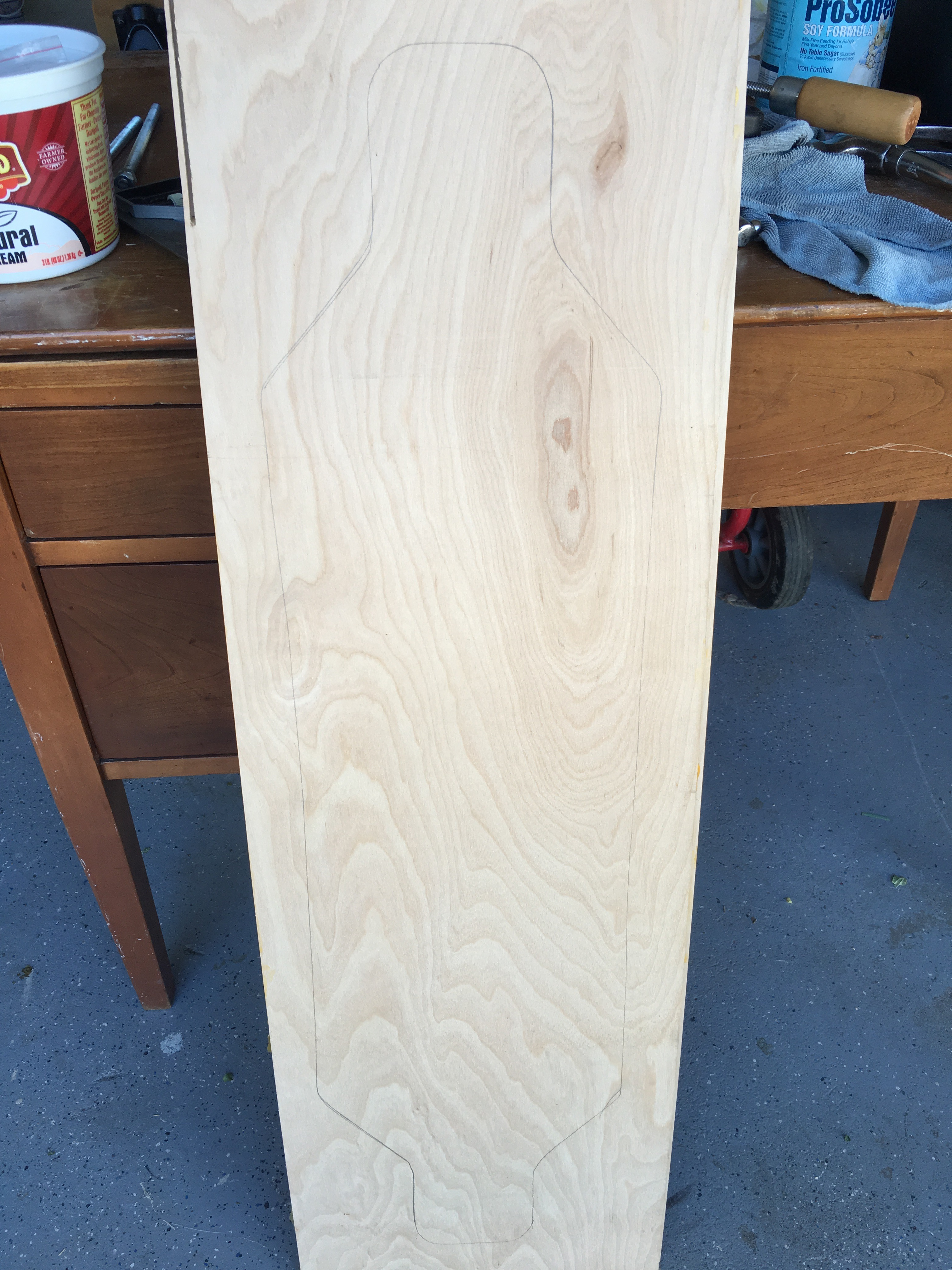 Picture of Glue the Plywood