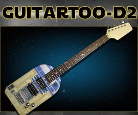 GuitarToo-D2 (R2-D2 themed electric guitar)