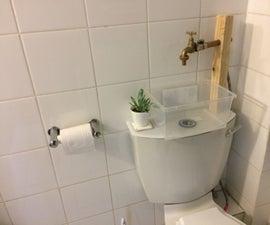 Water Saving Toilet-Mounted Basin