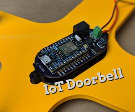 Build a Cloud-Connected WiFi Doorbell