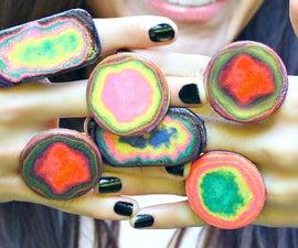 Beautiful Paper Rings