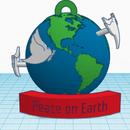 Peace on Earth Ornament