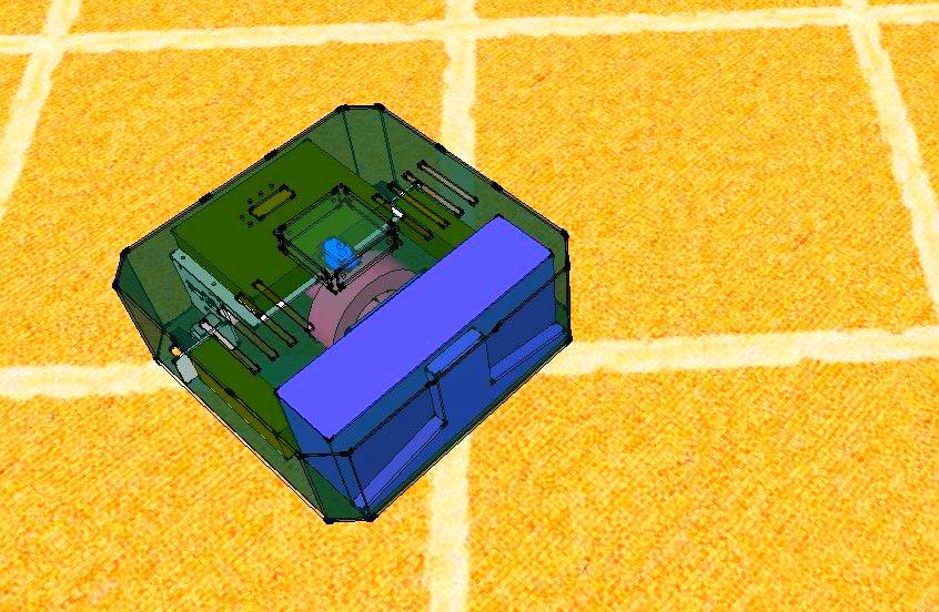 Picture of SLAM Based Autonomous Vacuum Cleaner