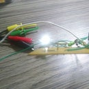 joule thief human power activated
