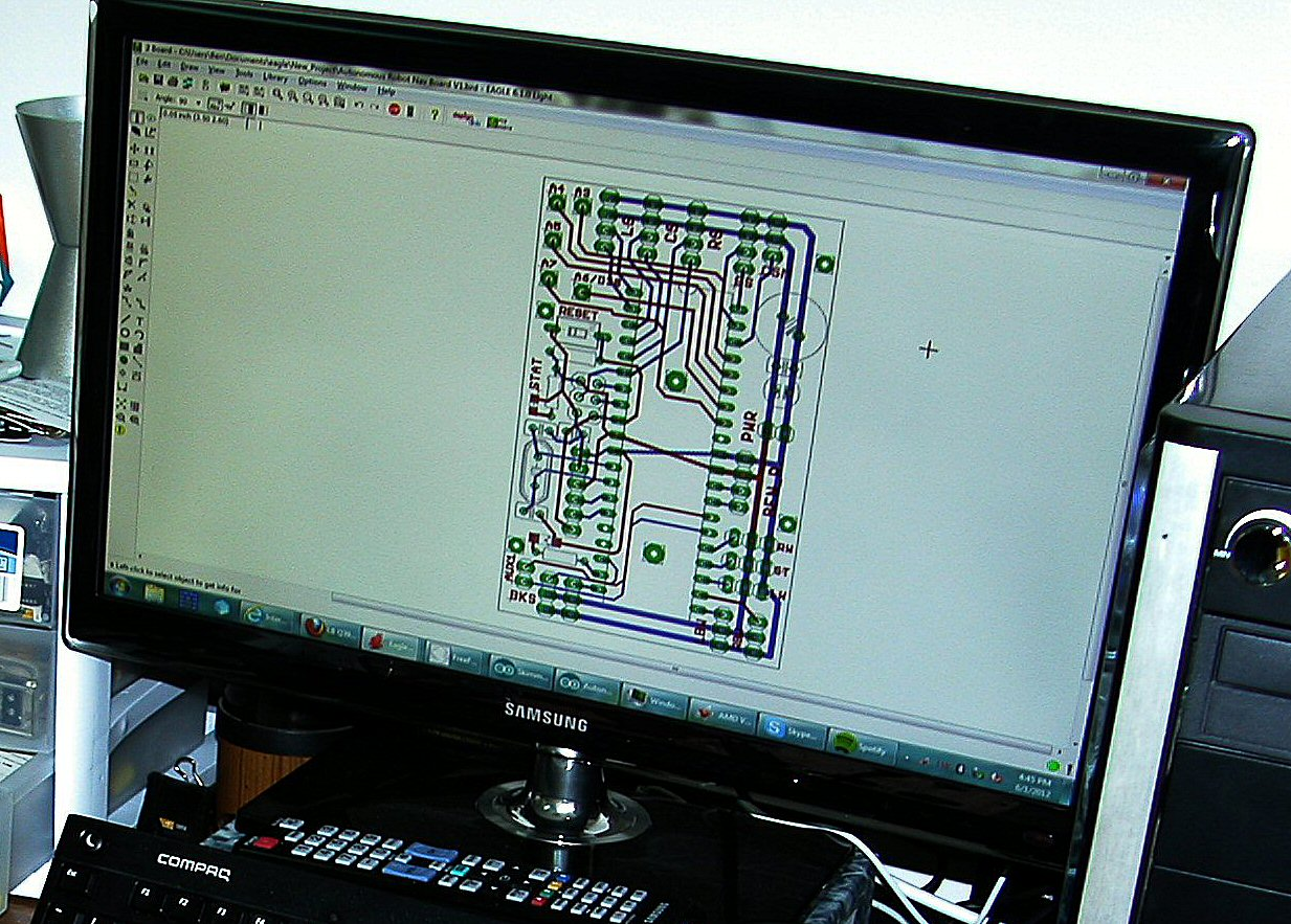 Picture of Making PCB